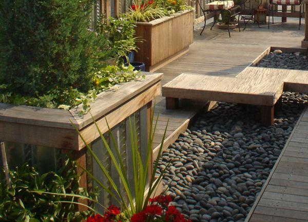 Zen roof deck