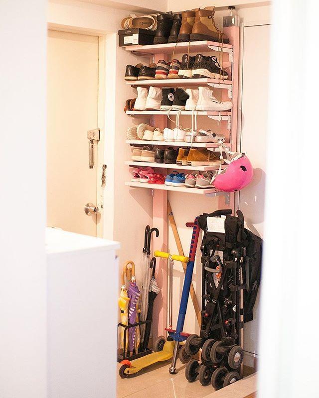 靴収納にはアイデアが必要!ボックスを使ったりDIYで工夫した靴