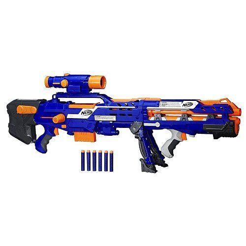 Nerf N-Strike Elite Longshot CS-6 (Blue Version) Nerf https: