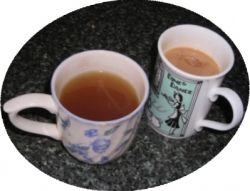 A Lovely Cup of Tea - Poem, Art and Bone China