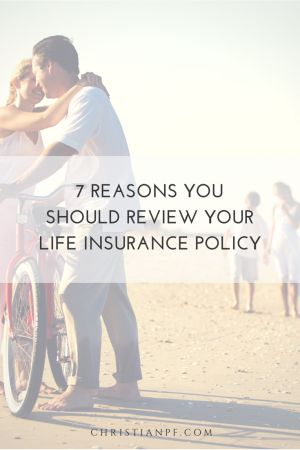 """7 Reasons You Should Review Your Life Insurance policy...For some reason a lot of folks think once they buy a life insurance policy they can """"set it and forget it"""" and they don't give a second thought to asking good questions about their life insurance and addressing their insurance needs.  I am a big believer in reviewing your financial plans at least annually, and a thorough look at your annual plan should give you a reason to review your life insurance needs.  Figuring that you never…"""