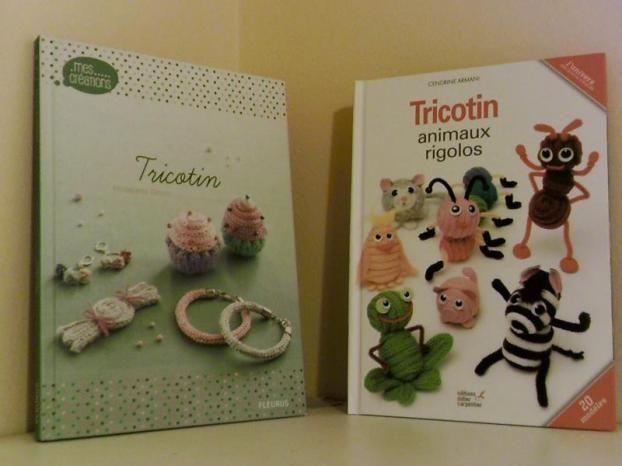Lot de 2 livres de tricotin à saisir sur Topannonces:  ►http://www.topannonces.fr/annonce-livre-bd-magazine-v45827763.html
