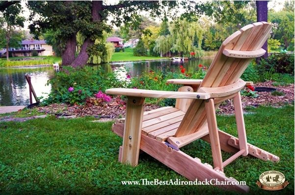 The Adjustable Folding Recliner provides all the comfort and relaxation your guests expect with the added convenience of easy folding. #outdoorfurniture #adirondackchair