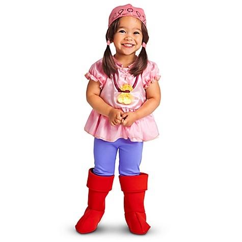 disney storedisney junior jake and the never land pirates izzy halloween costume for toddler girls size yah hey no way this disney store izzy costume - Disney Jr Halloween Costumes