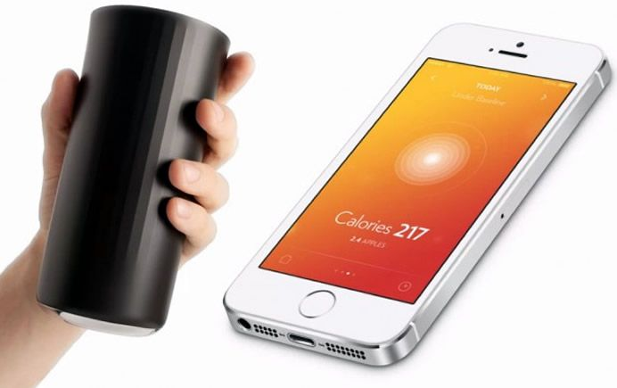 Vessyl iPhone connected Smart Cup that counts calories