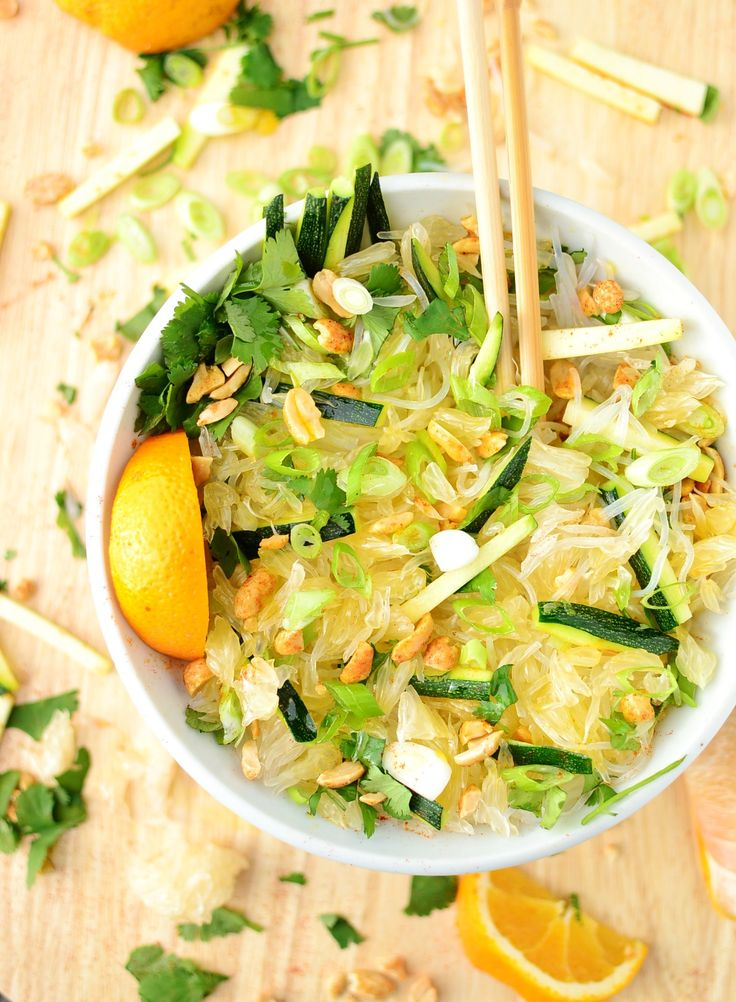Pomelo oriental salad - Everyday Healthy Recipes