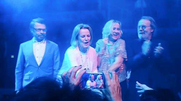 ABBA 2016 Björn Ulvaeus, Anni-Frid Lyngstad, Agnetha Fältskog and Benny Andersson