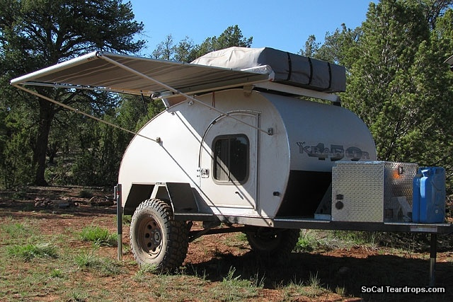 Different Types Of Jeeps >> So-Cal Teardrops - Options - Options - Side Awning ...