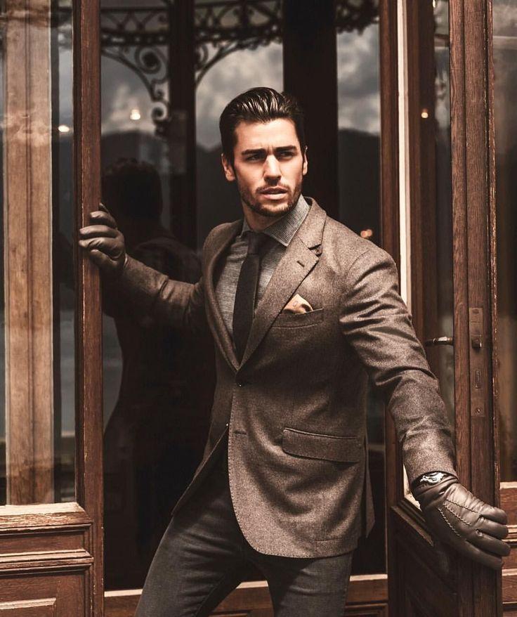 Rafael Beutl, Men's Fashion, Style, Clothing, Male Model, Good Looking, Beautiful Man, Handsome, Hot, Sexy, Eye Candy, Beard, Suits, Jacket, Necktie メンズファッション 男性モデル スーツ ジャケット ネクタイ