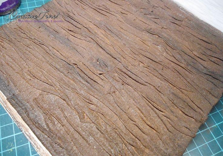 Имитируем древесную кору - Ярмарка Мастеров - ручная работа, handmade