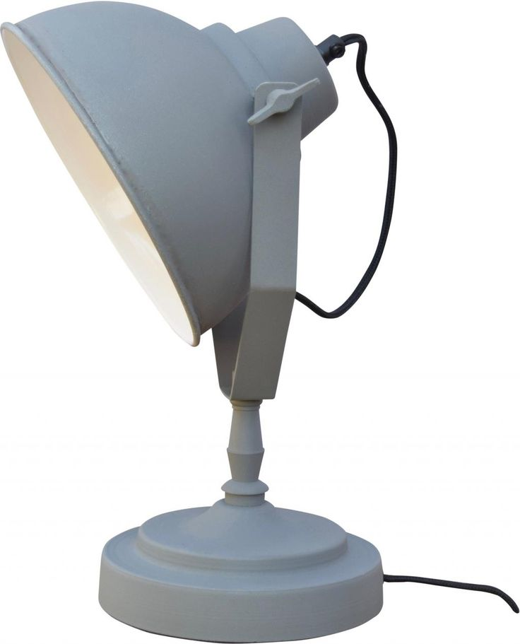 Tafellamp urban vintage grey - Urban Interiors 69,95 euro