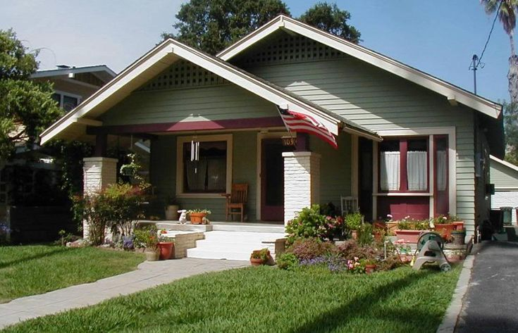 78 best images about california bungalows on pinterest for Californian bungalow front door