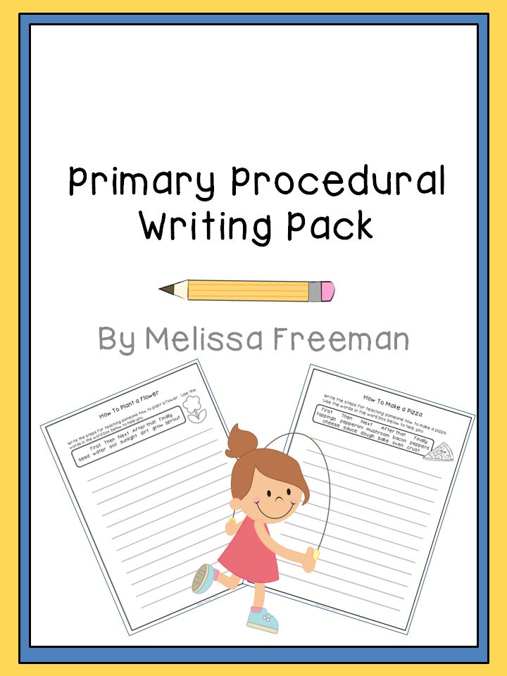 21 best Procedural writing images on Pinterest   Procedural text ...