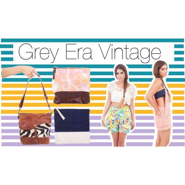 """Grey Era Vintage"" by zadenrow on Polyvore"