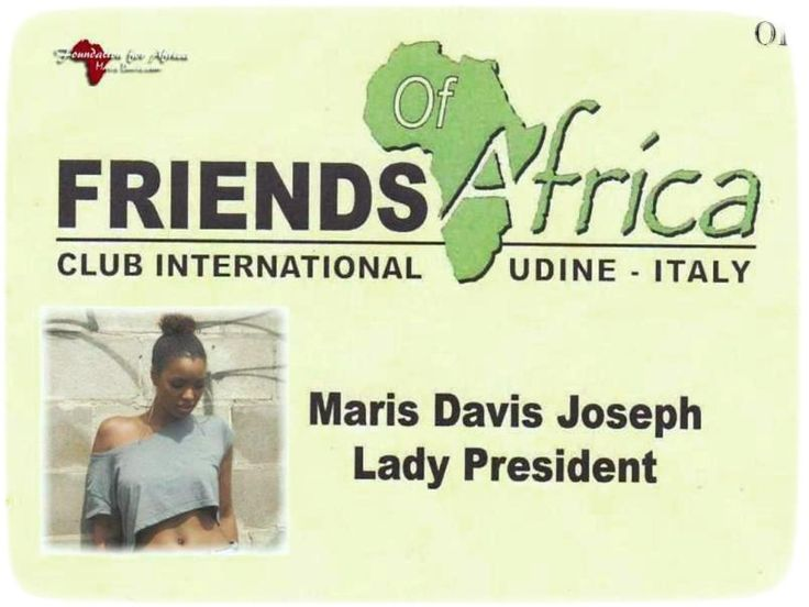 Lady President (Friends of Africa)