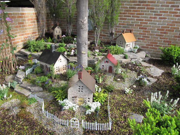 Urban Fairies Locations-Fairy Village- Parking structure-fourth Ave and William Street, Ann Arbor