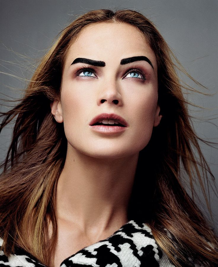The Best Brows for Your Hair Color: From Bleached to Black ...