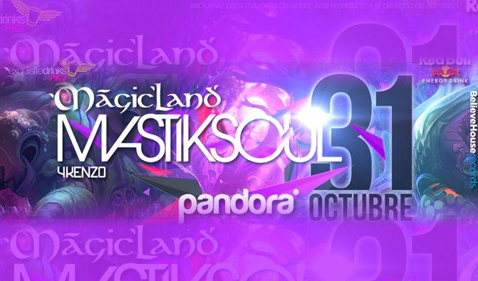 MastikSoul se presentará en Pandora el Próximo 31 de Oct