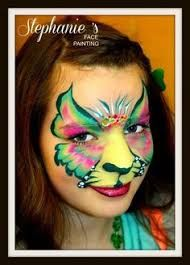 Image result for cat face paint one stroke