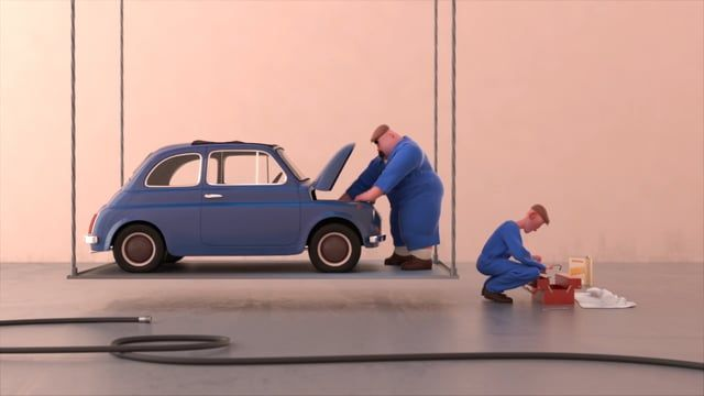 Here's my third year movie at Mopa, Enjoy ! The theme of this year was the garage. Soft used : 3dsMax, Zbrush, Vray, Premiere, After Effects, Audition, Photoshop