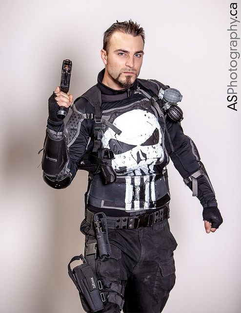 Punisher at Hammer Town Comic Con 2013 by andreas_schneider, via Flickr