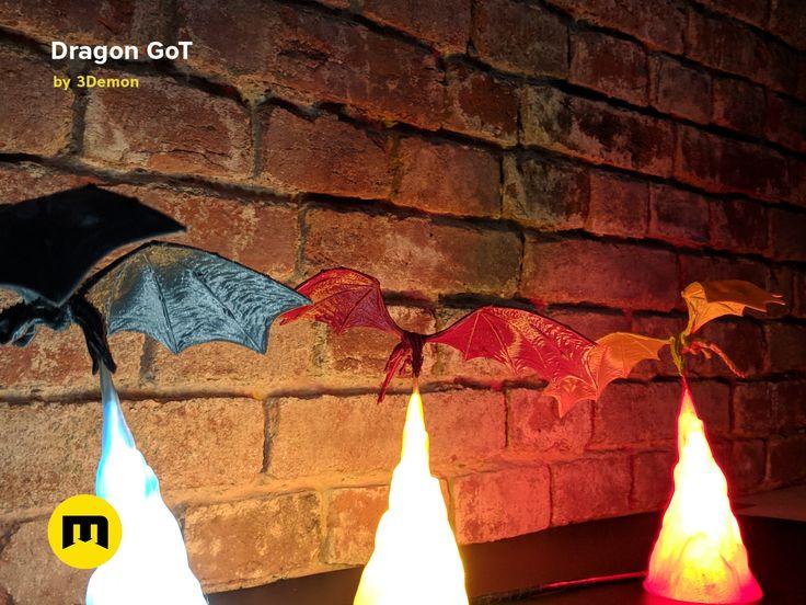 Pin On Got Dragon Lamps Dragons