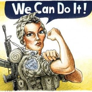 Noonie Fortin: Honoring our Female Soldiers