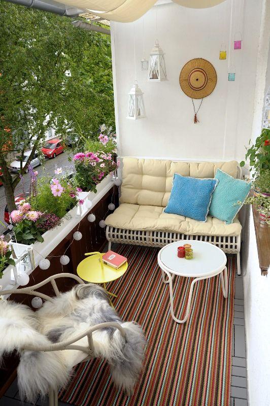 Die besten 25+ Kleinen balkon gestalten Ideen auf Pinterest - mini balkon gestalten