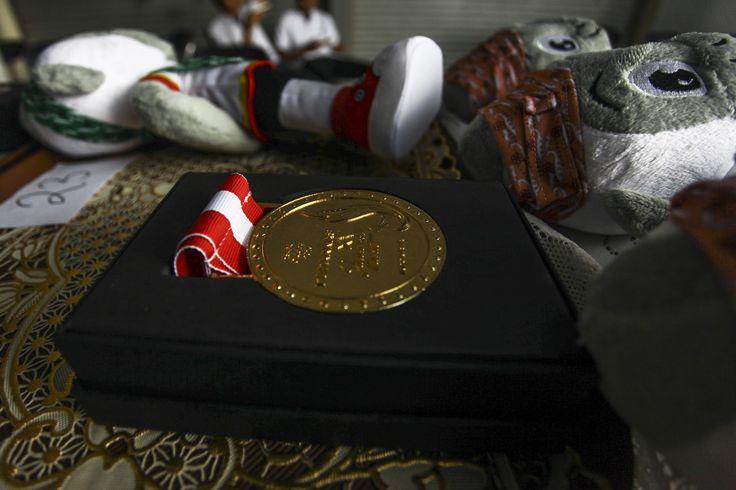 Ada 2.145 medali🎖yang diperebutkan di #Peparnas2016. 605 medali emas, 605 medali perak, dan 935 medali perunggu.