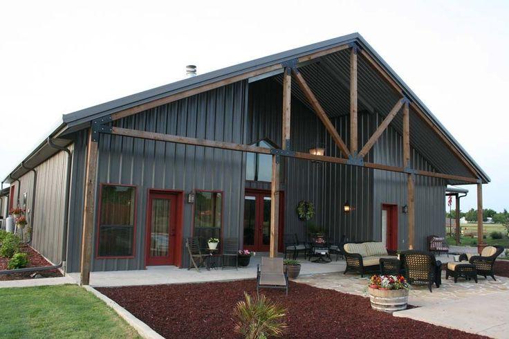 Best 25 Metal Building Houses Ideas On Pinterest Metal Building