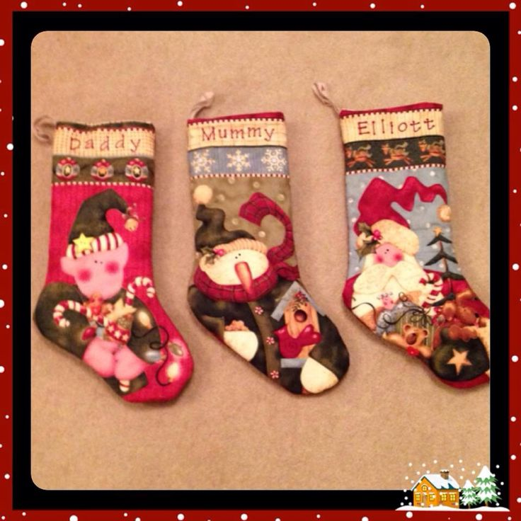 Nancy Halvorsen christmas stockings