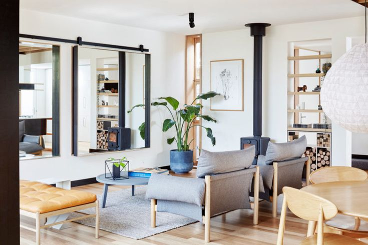 A Turn-of-the-Century Victorian Gets a Modern Extension - Design Milk