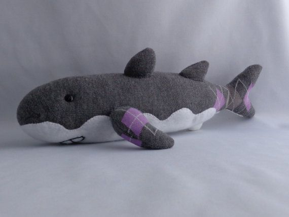 Shark Plush Toy Stuffed Animal Sock Monkey Stuffed Toy
