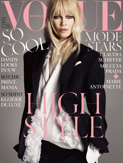 244 best the glossy edit images on pinterest magazine covers vogue germany april 2014 claudia shiffer by luigi iango fandeluxe Choice Image