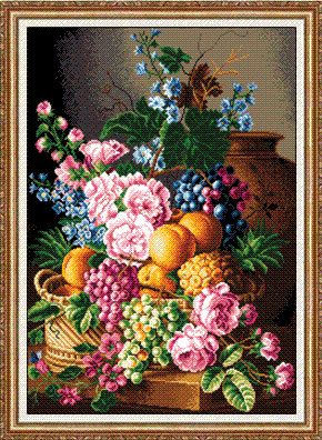 Made to order  a gobelin / cross stitch wall by CottonMystery, $880.00