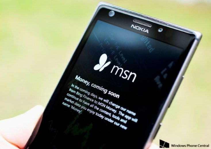 Bing Finance app to become MSN Money – in the coming days #shriram #transport #finance http://cash.remmont.com/bing-finance-app-to-become-msn-money-in-the-coming-days-shriram-transport-finance/  #bing finance # Earlier this month, Microsoft revealed that it was preparing to rebrand its Bing apps under the MSN brand. The apps – such as News, Weather and Travel, among others – dropped some of their Bing branding back... Read more