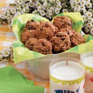 Jumbo Cranberry Oatmeal Jumbles Recipe — Dishmaps