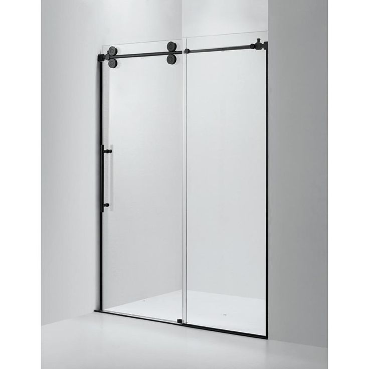 Dreamwerks 60 In X 79 In Frameless Sliding Shower Door