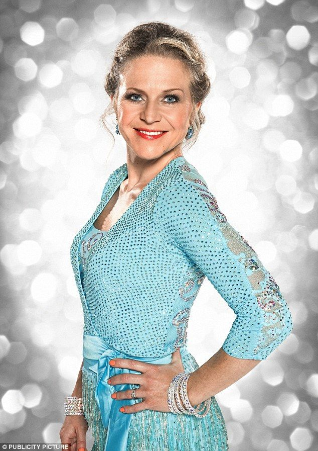 Eastenders actress Kellie Bright was the first celebrity to take to the floor and scored a...