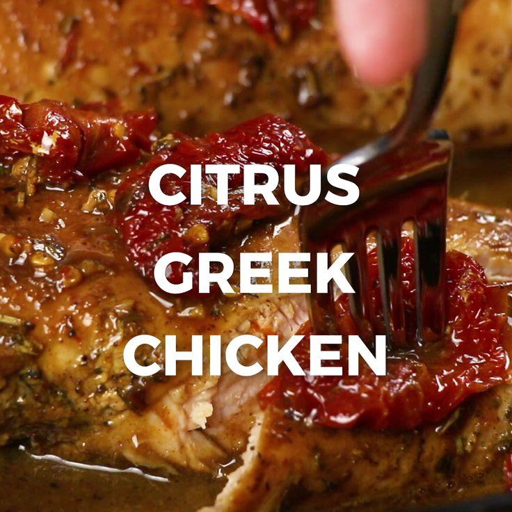 Citrus Greek Chicken – Essen