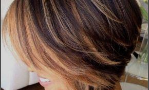 Coolest Wow Bob Hairstyles Tiered Backside – #Bob #Coolest #Hairstyles #graded #backhead