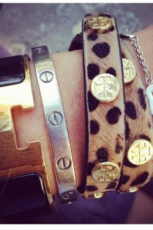 Hermes, Cartier and Tory Burch