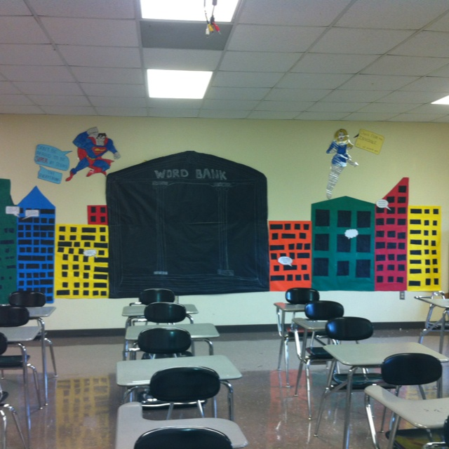 Classroom Theme Ideas High School ~ Best images about superhero theme on pinterest