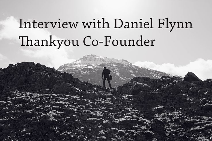 PB165: Interview with Daniel Flynn  Thankyou Cofounder