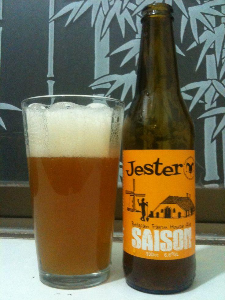 Cerveza Jester, Saison Cerveza artesanal chilena. Disponible en www.cervezateca.cl