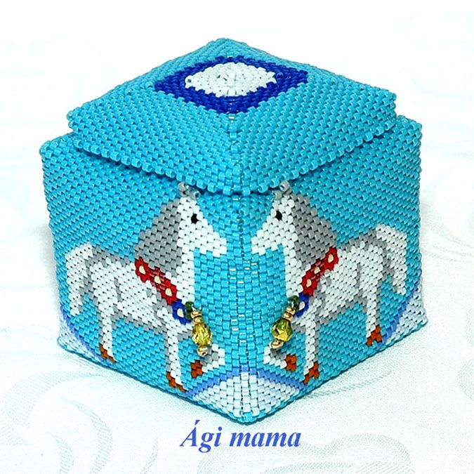 17 Best Images About Beaded Boxes On Pinterest
