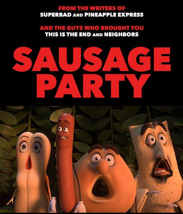 Sausage Party is the funniest 'ADULT' movie I've seen since SouthPark Bigger Longer and Uncut… I haven't laughed this much at a movie since SouthPark… Trust me if you like SouthPark, Family Guy and the Simpson's you'll love this movie…  that being said I must warn those uninitiated this is by far the most ADULT R rated movie ever released…