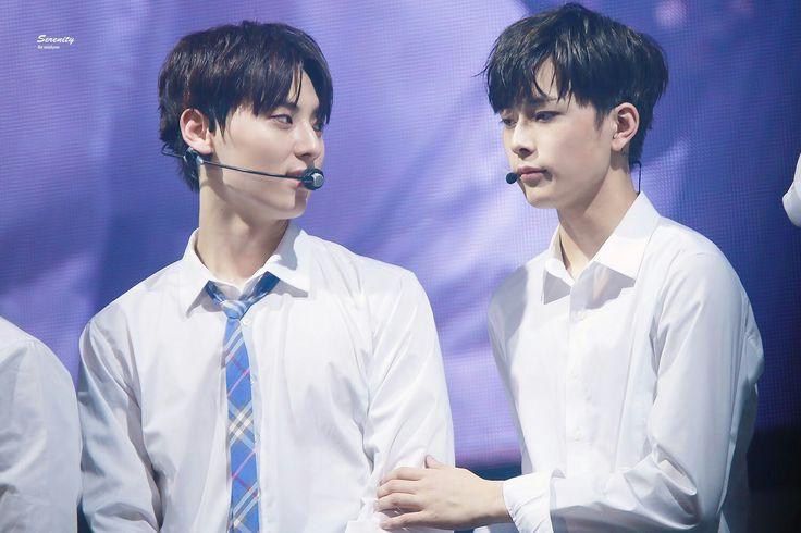 Minhyun and Seonho