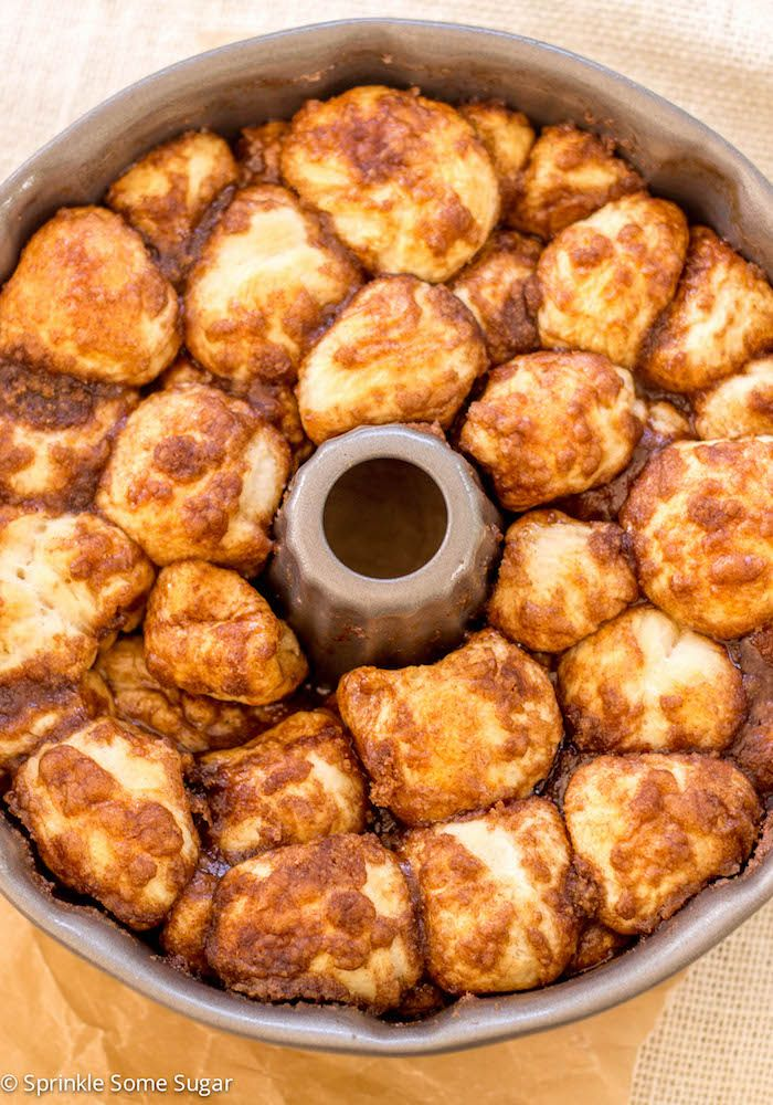 Homemade Monkey Bread - Sprinkle Some Sugar