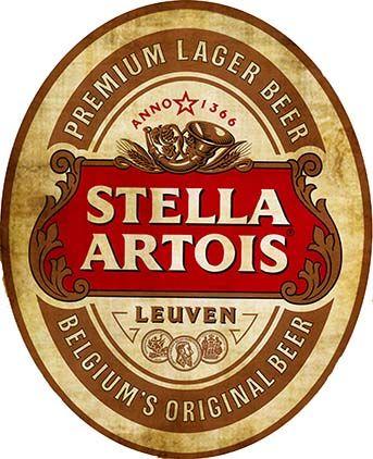 22291. - CERVEJA - STELLA ARTOIS - Sign - modelo envelhecido - formato oval - 29x35-.jpg